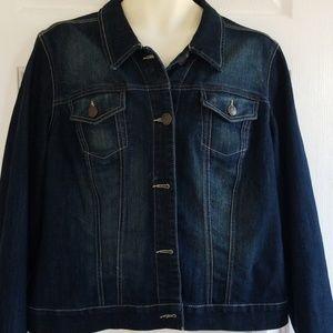 Nine West Vintage American collection denim jacket